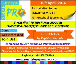 Newspaper Ad for Pune Seminar